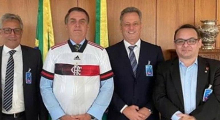 Bolsonaro e Landim