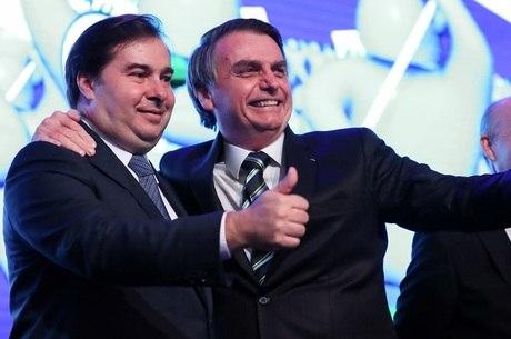 Bolsonaro tomou café com Maia, Alcolumbre e Toffoli