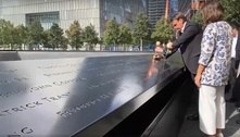 Em Nova York, Bolsonaro visita o Memorial de 11 de Setembro