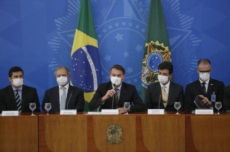 Bolsonaro fez uma avaliação da situação no país