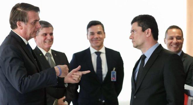 Moro é um dos ministros mais importantes do governo Bolsonaro