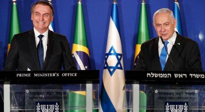 Momento da visita é estratégico para Netanyahu, que enfrentará eleições na semana que vem