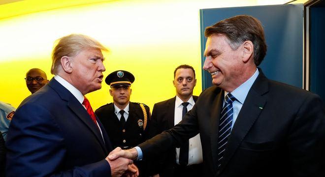 """""""Não tem decepção porque não bateu o martelo ainda"""", diz Bolsonaro sobre Trump"""