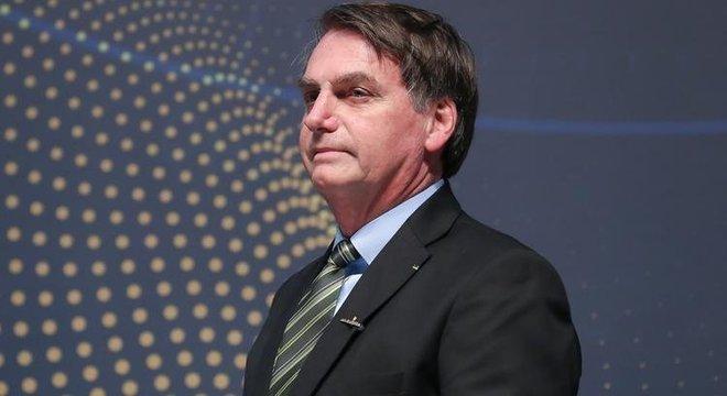 O presidente Jair Bolsonaro, que inicia viagem pela Ásia