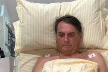 Bolsonaro passou mal no 5º dia de internação