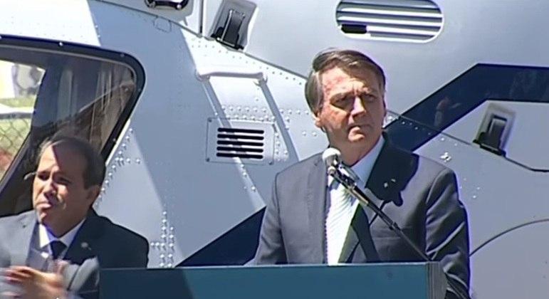 Bolsonaro participou de cerimônia comemorativa do 80º aniversário do Comando da Aeronáutica