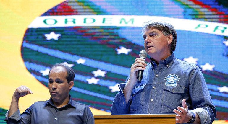Bolsonaro participou de culto interdenominacional das Igrejas de Anápolis (GO)