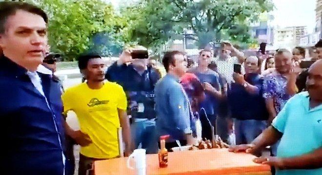 Bolsonaro em saída no domingo por Ceilândia e Taguatinga; MPF quer que ele seja multado