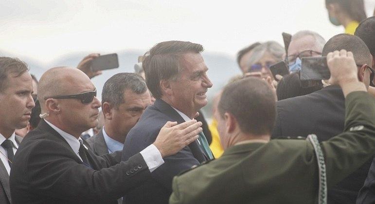 Bolsonaro em visita a Joinville (SC)