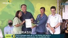 Bolsonaro chama Flávio Dino de ditador em evento no Maranhão