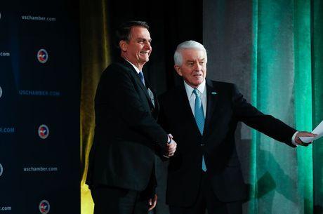 Bolsonaro destaca interesse em parcerias e aproximação