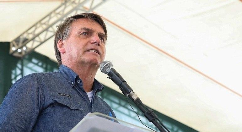 Presidente usou as redes sociais para defender suas falas em evento polêmico no Ceará