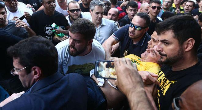 Bolsonaro foi atacado em Juiz de Fora