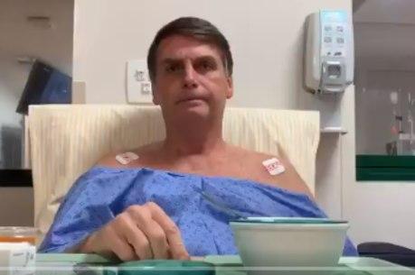 Bolsonaro está sem febre e pode ter alta na quarta (13)