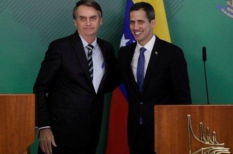 Bolsonaro e Guaidó em encontro no fim de fevereiro