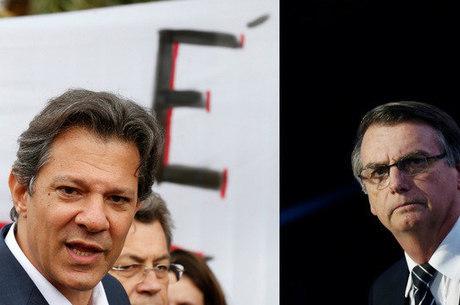 Bolsonaro e Haddad disputam segundo turno