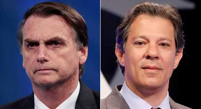 Jair Bolsonaro e Fernando Haddad disputam segundo turno, segundo Ibope