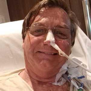 Bolsonaro no hospital em SP