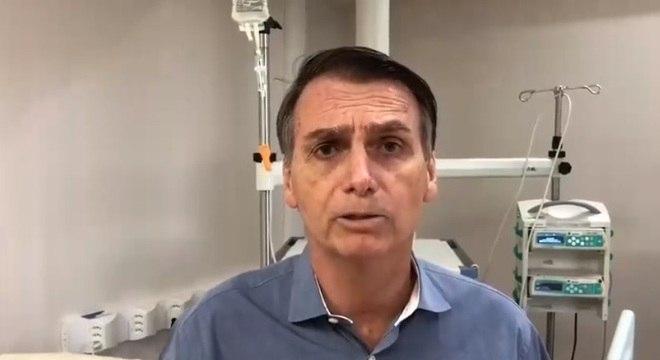 Bolsonaro ficou 24 dias internado, 2 deles em Juiz de Fora (MG) e 22 em São Paulo