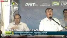 Bolsonaro: 'Politica de fechar tudo e ficar em casa não deu certo'