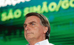 Bolsonaro inaugurou 172 km de ferrovia em GO