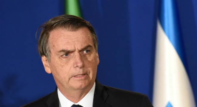 Bolsonaro fez anúncio em café da manhã com jornalistas