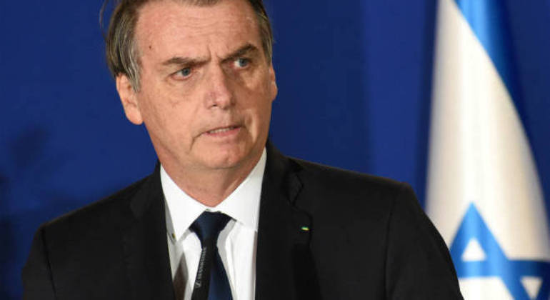 Bolsonaro em visita a Israel: para o presidente, acordo vai intensificar relações bilaterais