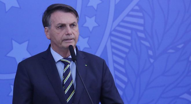 O presidente Jair Bolsonaro, que afirma que exames deram negativo