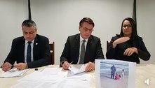 """Em live, Bolsonaro diz que """"alguns querem jogar fora da Constituição"""""""