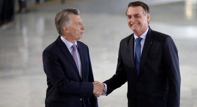 Resultado de imagem para foto presidente da Argentina, Maurício Macri, ao Brasil,