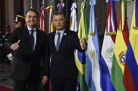 Macri é aliado de Bolsonaro