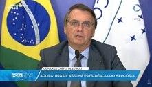 Bolsonaro: Brasil 'tem pressa' para modernizar economia e sociedade