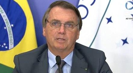 """Recuperação brasileira """"já começou"""", disse Bolsonaro"""