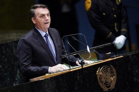 Bolsonaro fez sua estreia na Assembleia-Geral da ONU