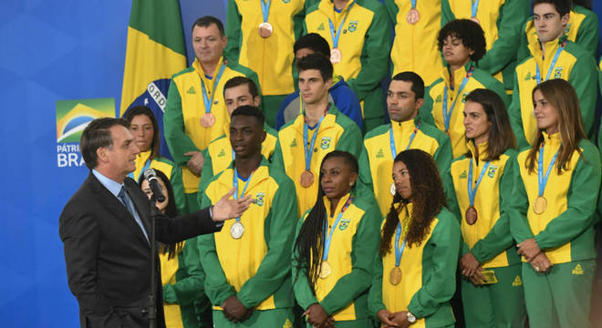 Mais da metade das medalhas conquistadas em Lima 2019 vieram de militares