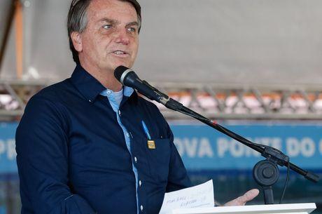 Bolsonaro esteve em Porto Alegre nesta manhã