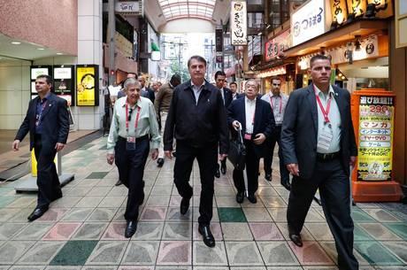 Bolsonaro lamentou não visitar brasileiros de Hamamatsu