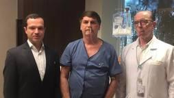 Bolsonaro mantém dieta líquida e fisioterapia no hospital, diz boletim (Reprodução/Twitter @jairbolsonaro)