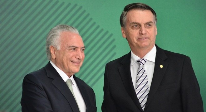 Temer foi convidado por Bolsonaro para chefiar a missão no Líbano