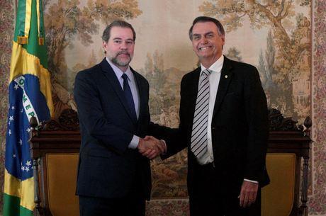 Bolsonaro e Toffoli se reuniram no Palácio da Alvorada