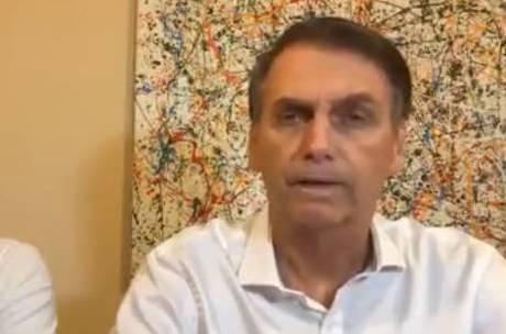 Bolsonaro concedeu entrevista hoje a rádio