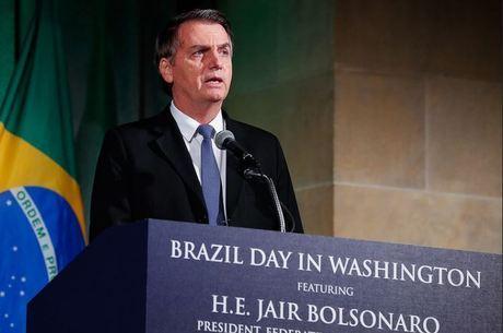 Bolsonaro estava nos Estados Unidos