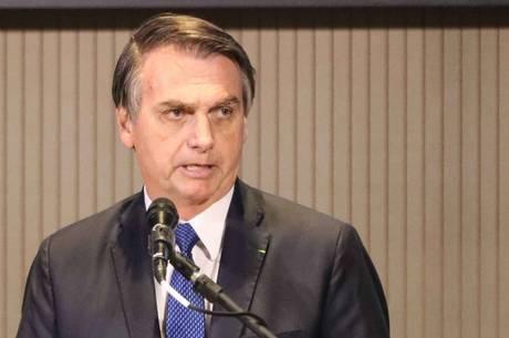 O presidente da República, Jair Bolsonaro (PSL)