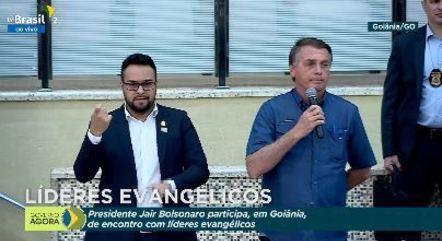 """Bolsonaro: """"Temos um presidente que não deseja e nem provoca rupturas"""""""