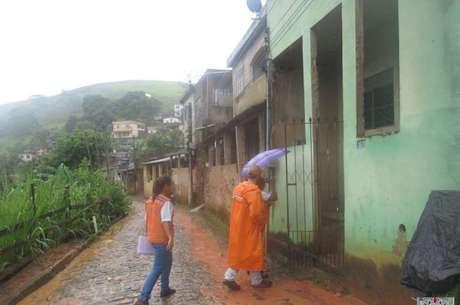 Bom Jesus do Itabapoana foi atingida por chuva forte