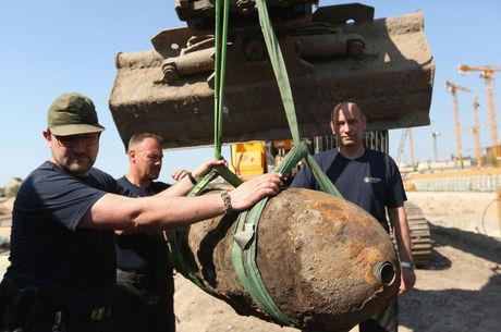 Esquadrão antibombas da Alemanha é um dos mais ativos do mundo