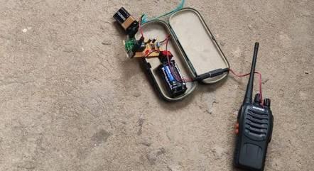 Esquadrão antibombas desarmou o explosivo