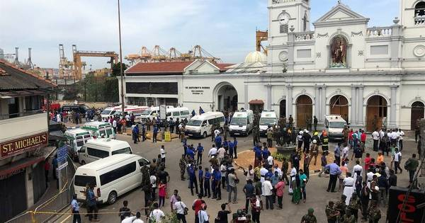 Bombas deixam 52 mortos e mais de 100 feridos na capital do Sri Lanka