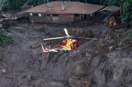 Região afetada pela tragédia de Brumadinho (MG)