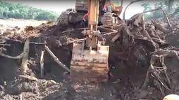 Corpo de Bombeiros encontra almoxarifado soterrado por lama em Brumadinho ()